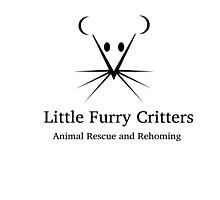 Little Furry Critters Logo Photographic Print