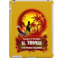 St. Thomas Summer Time iPad Case/Skin