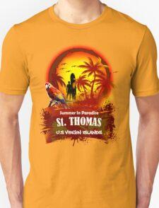 St. Thomas Summer Time Unisex T-Shirt