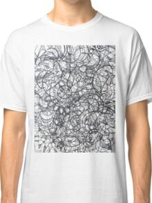 "The Artist Adamo ""RAW Sharpie Conceptual Quilting"" Classic T-Shirt"