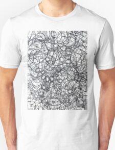 "The Artist Adamo ""RAW Sharpie Conceptual Quilting"" Unisex T-Shirt"
