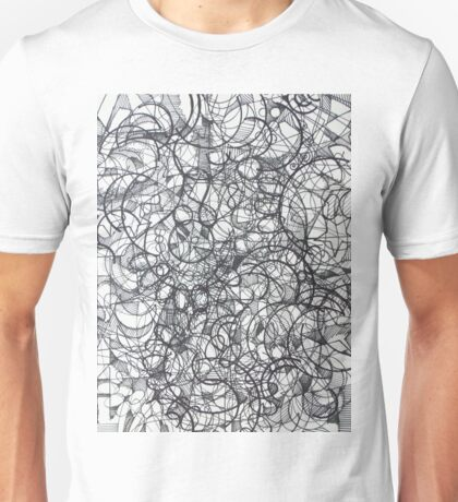 "The Artist Adamo ""RAW Sharpie Conceptual Quilting"" Unisex T-Shirt"