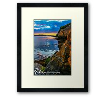 Sunset in Ballyshannon Framed Print