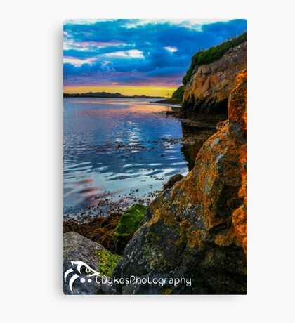 Sunset in Ballyshannon Canvas Print