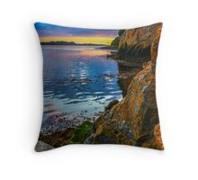 Sunset in Ballyshannon Throw Pillow