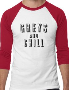 GREY'S AND CHILL - GREY'S ANATOMY Men's Baseball ¾ T-Shirt
