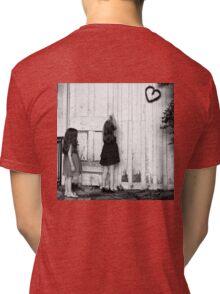 Primrose Cottage Garden Shed Tri-blend T-Shirt