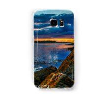 Sunset in Ballyshannon LS Samsung Galaxy Case/Skin