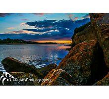 Sunset in Ballyshannon LS Photographic Print
