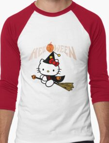 Kitty_Helloween Men's Baseball ¾ T-Shirt
