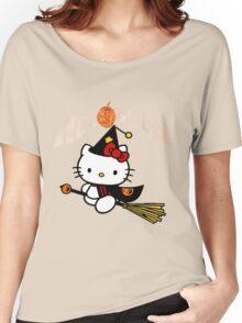 Kitty_Helloween Women's Relaxed Fit T-Shirt