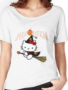 Kitty_Helloween Women's Relaxed Fit T-Shirt