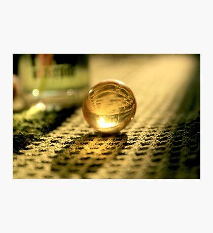 Sunny Ball/Globule - Macro Photography Photographic Print