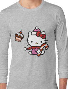 Kitty_Helloween Long Sleeve T-Shirt