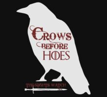 Crows Before Hoes by GarfunkelArt