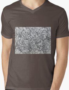 "The Artist Adamo ""RAW Coceptual Sharpie french curve 2014"" Mens V-Neck T-Shirt"