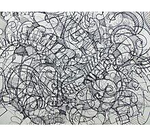 "The Artist Adamo ""RAW Coceptual Sharpie french curve 2014"" Photographic Print"