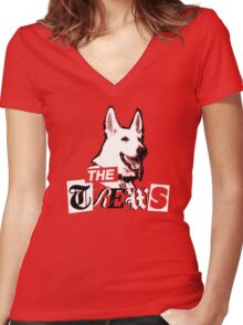 The Trews Women's Fitted V-Neck T-Shirt