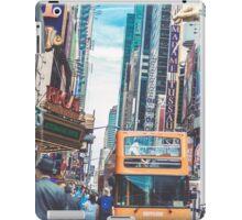 BUS TOURS iPad Case/Skin