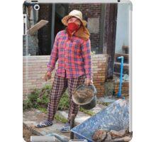 Khmer Female Laborer iPad Case/Skin