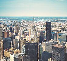 New York City Skyline by EmptyWearStuff