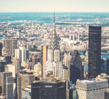 New York City Skyline Sticker