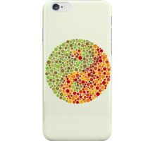 Color Blind Yin Yang Sign iPhone Case/Skin