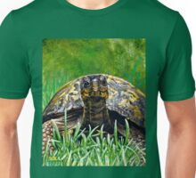 """Smile!"" Eastern Box Turtle painting Unisex T-Shirt"