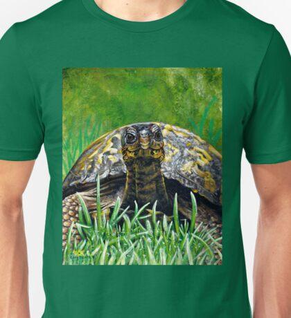 """Smile!"" Eastern Box Turtle painting Unisex T-Shirt"