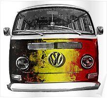 VW BELGIUM Poster
