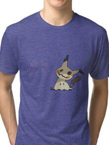 Mimikyu Wants Love Tri-blend T-Shirt