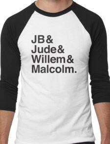 JB & Jude & Willem & Malcolm  Men's Baseball ¾ T-Shirt