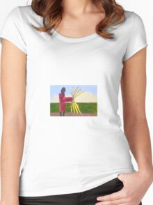 The Harvest Women's Fitted Scoop T-Shirt