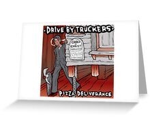 DRIVE BY TRUCKERS ALBUMS 4 Greeting Card