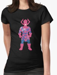 Galaxy: Galactus Womens Fitted T-Shirt