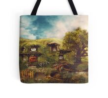 The Shire, My Dream Hobbit House Tote Bag