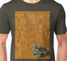 """""""Toadally"""", marbled surreal toad painting Unisex T-Shirt"""