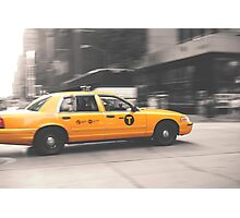 TAXI! Photographic Print