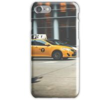 Taxi, Taxi! iPhone Case/Skin