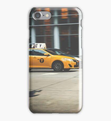 Taxi, Taxi! iPhone Case/Skin
