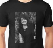Self at Seventy-Three in Black and White Unisex T-Shirt