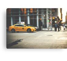 Taxi, Taxi! Canvas Print
