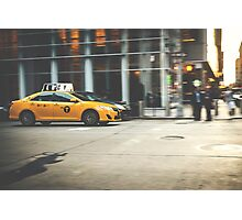 Taxi, Taxi! Photographic Print