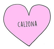 CALLIE AND ARIZONA (CALZON) CANDY HEART Photographic Print