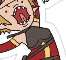 Dragon Age Adventure Time - Sera Sticker