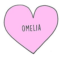 OWEN AND AMELIA (OMELIA) CANDY HEART Photographic Print