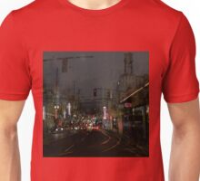 Turning Left Unisex T-Shirt