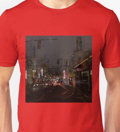 Turning Left Unisex T-Shirt