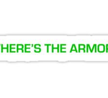 Where's the Armor? Sticker