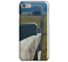 Paddock Fence iPhone Case/Skin